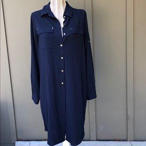 EUC Calvin Klein Shirt Dress